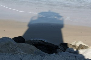 image of lighthouse shadow