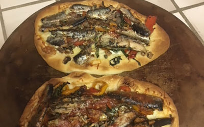 Sardine Pizza from Everyday Seafood